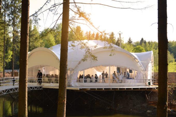 Свадебный шатер в Подмосковье