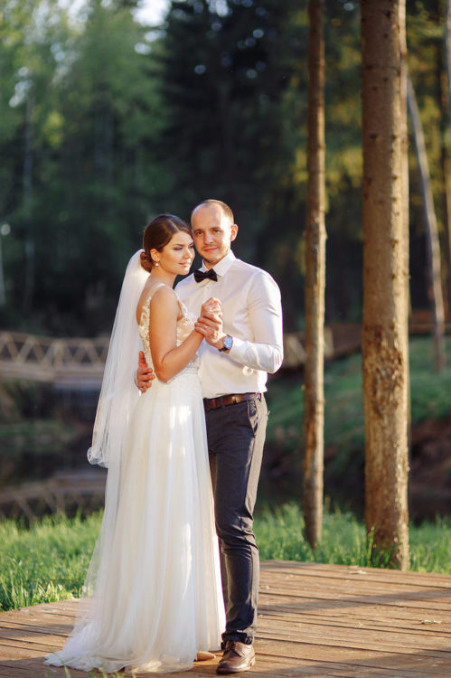 Свадьба в Подмосковье за городом