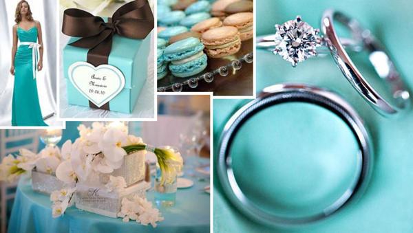 Свадьба в голубых тонах