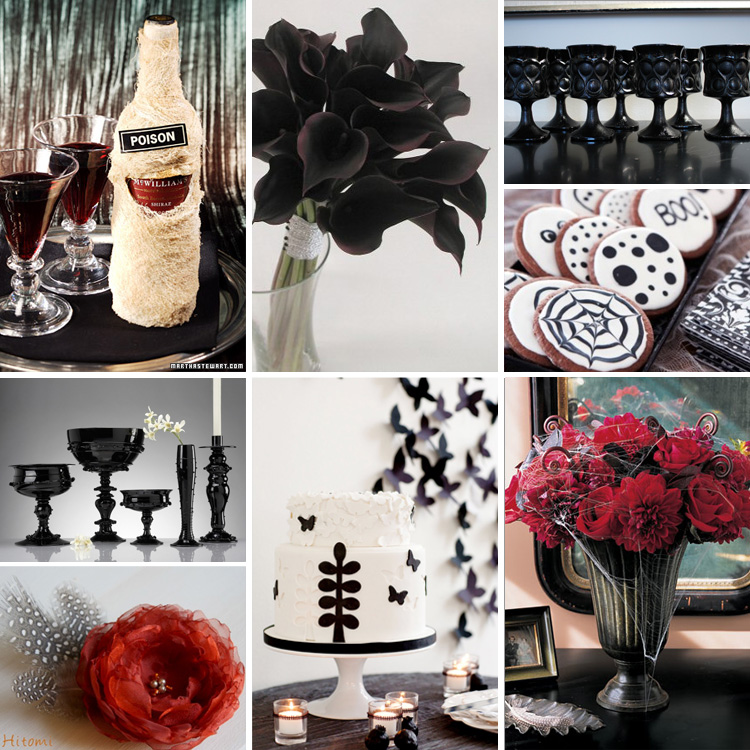 Black-White-Halloween-Wedding-Inspiration