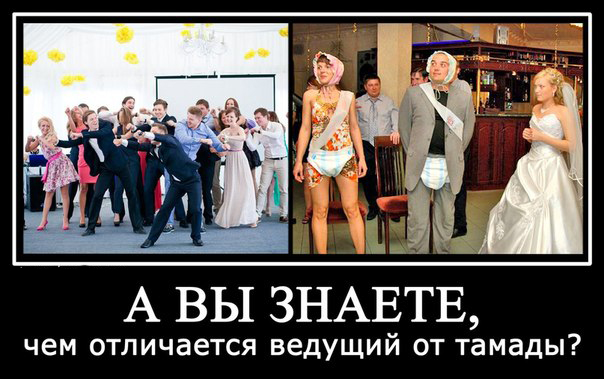 Как выбрать ведущего на свадьбу